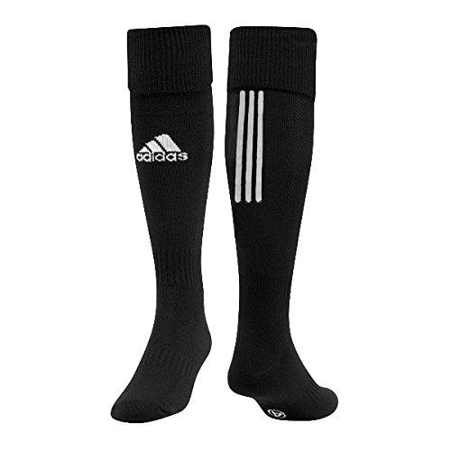 adidas Kinder Stutzen Santos 3-Stripe, black/white, 34-36, Z56221 (Socken Adidas Kinder)