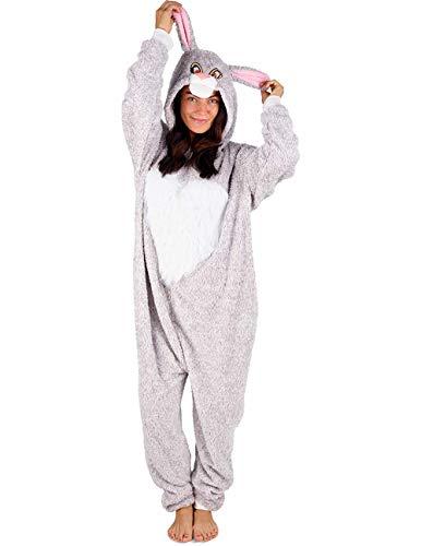 Citycomfort onesies o pigiami da donna con soffici pantofole unicorn womens pjs i pantaloni da pigiama set di regali perfetti per unicorno quest'anno disponibilità limitata (m 12-14, coniglio)