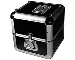 Flight-case noir pour disques vinyle ALU-LP150-BK