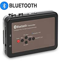 DIGITNOW! Bluetooth Walkman Cassette Player Personal Cassette Tape Digital Recorder, Cassette Tape to Mp3 Converter, No PC Required