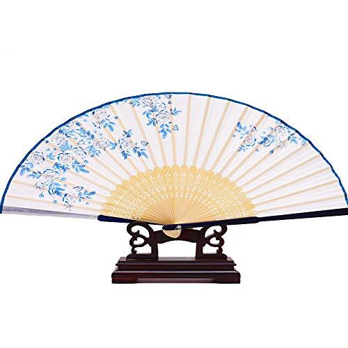 Kostüm Spenden - Fan chinesischen Stil Sommer tragbare alte Kostüm Hanfu Folding Small Bamboo Fan