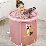 CQyg CQ Damenbadewanne, Faltbadewanne, Aufblasbares PVC-Pool, Whirlpool, Warm Halten Verdicken Sie...