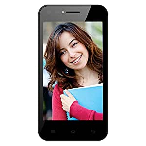 Celkon Campus Whizz Q42 (Black-White)