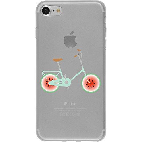 PhoneNatic Case für Apple iPhone 8 Silikon-Hülle Bike M4 Case iPhone 8 Tasche + 2 Schutzfolien Design:03