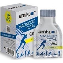 ANA MARIA LAJUSTICIA MAGNESIO total sabor limon 12sbrs. gel AMLSPORT
