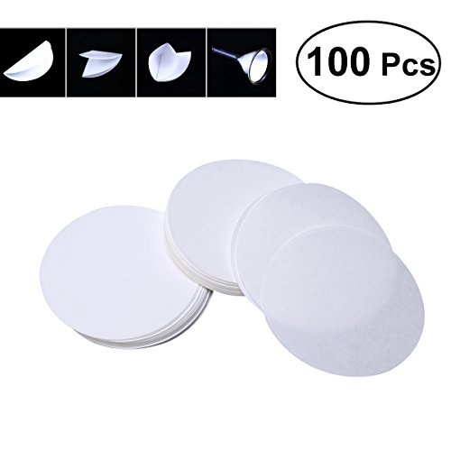 ueetek 100 PCS 4,33 Zoll. Dia Premium Festplatten Medium Flow Rate Qualitative Filter Paper