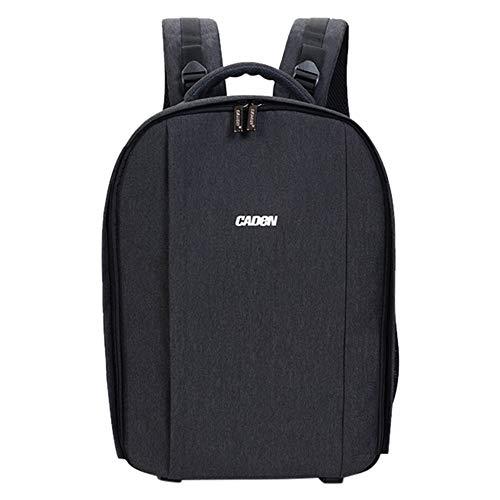 FiedFikt Kamera-Rucksack, Schultertasche, kompakt, wasserfest, für Nikon-Kameras, Farbfutter, kompatibel mit den meisten DSLR-Kameras Nikon Sync