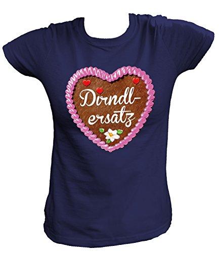 Artdiktat Damen T-Shirt - Lebkuchenherz - Dirndlersatz