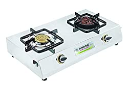 Sunshine Meethi Angeethi Double Burner Stainless Steel Cook Top