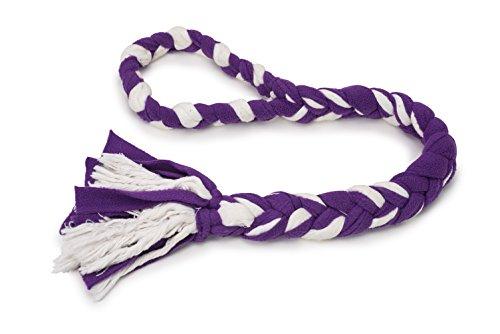 PetSafe Fleece Hundespielzeug,  Zieh- und Zerrspielzeug mit geflochtenem Vlies Seil -