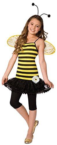 (Generique Bienen-Kostüm für Mädchen 146 (8-10 Jahre))