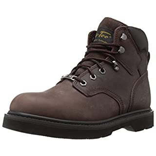 Adtec Men's 6 Inch Steel Toe 9328-M Work Boot, Brown, 12 M US