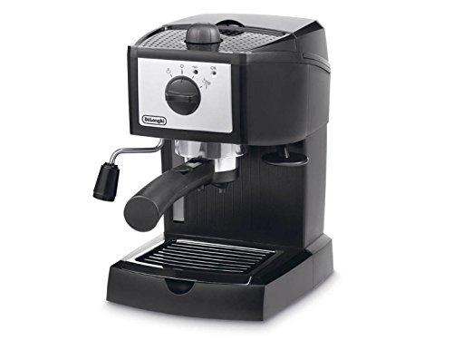 DeLonghi EC 153.B - Cafetera combinada espresso/goteo, 1 litro, 1050 W, color negro y gris
