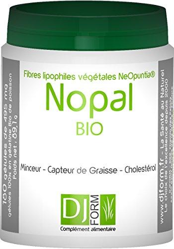 Nopal Bio-300Cápsulas-higuera de barbarie-Sensor de grasa Minceur-Control del Peso