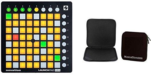NOVATION Producer Pack LaunchPad Mini MKII / Custodia per Pad Controller Bundle