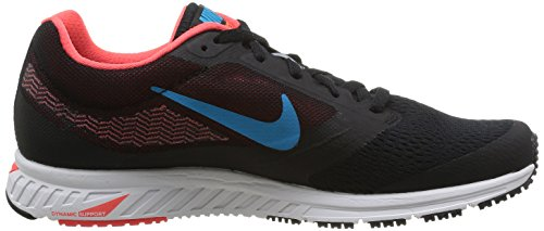 Nike Air Zoom Fly 2, Scarpe sportive, Uomo Black/Bl Lgn-Brght Crmsn-White