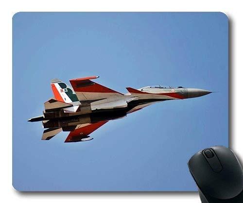 Yanteng Aviones de Combate Indios de la Fuerza aérea, HD, Gran Alfombrilla de ratón para Juegos, Figura de acción de Street Fighter, Alfombrilla de ratón con Bordes cosidos