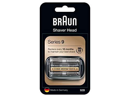Braun Series 9 92B Elektrischer Rasierer Scherkopfkassette - schwarz