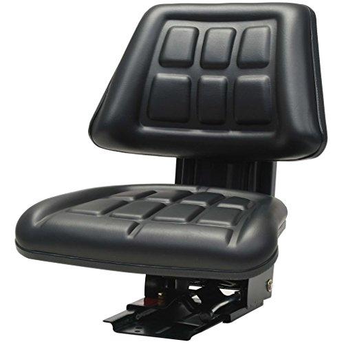 Preisvergleich Produktbild vidaXL Traktorsitz mit Federung Schwarz Schleppersitz Staplersitz Baggersitz