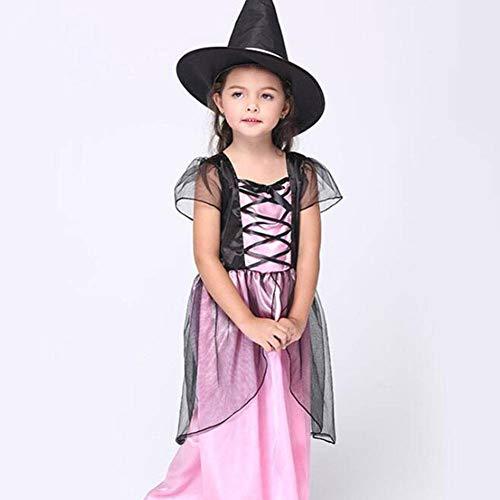 Stich Kostüm Hexe - QWE Halloween Kostüm Hexe Cosplay Performance Kostüm Hexe Cosplay Kleidung Kinderkleidung