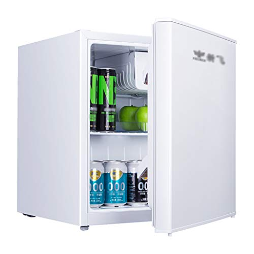 Unbekannt Kühlschrank Eintüriger Kühlschrank Mini-Gefrierschrank 55L Energiesparend Kühl Gefriertruhe 37dB Geräuschpegel 0.34kw • h / 24h Schwarz/Weiß