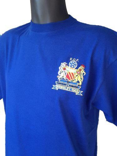Retro Manchester United 1968 European Cup Final Football T Shirt New Sizes S-XXXL Embroidered Logo
