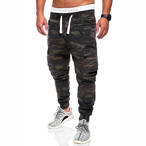 hahashop2 Herren Straight Jeans Original Jeanshosen Basic Slim Fit Skinny Jeans Arbeiten Sie lose hübsche Taschenjeans-Haremhosen-Arbeitskleidungs-Tarnungshosen um -