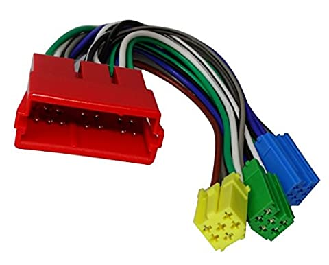 Aerzetix: Cable Mini ISO Wiring Adapter for
