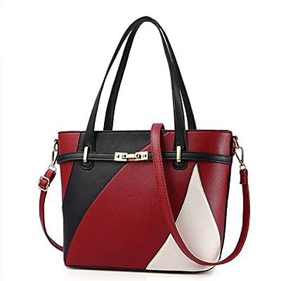 Les femmes Sacs à main en cuir sac bandoulière sac d'occasionnels Femmes Sacs à main patchwork Femme Sacs à main Mesdames Principal