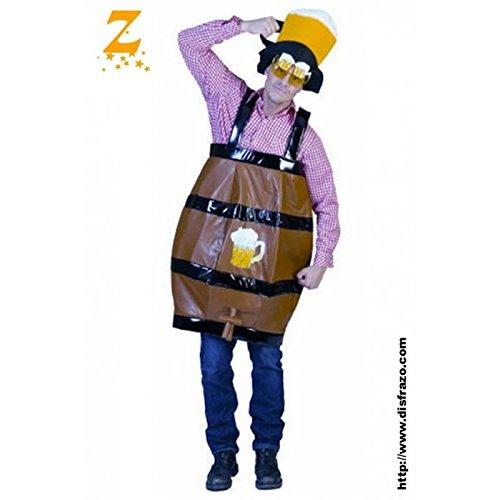 Generique - Bierfass-Kostüm für - Für Erwachsene Bierfass Kostüm