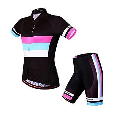 Radtrikot Skysper Outdoor Sports Fahrradbekleidung Set Lange Radfahren Jersey + Radfahren Latzhose Shorts Männer