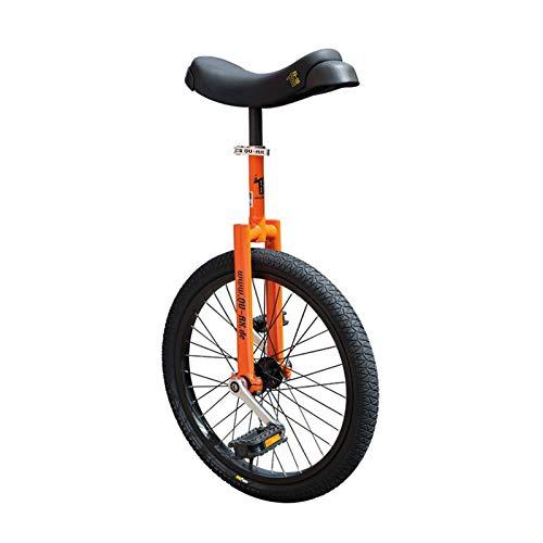 QU-AX Unisex- Erwachsene Einrad, Orange, One Size