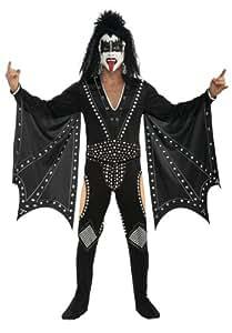 Rubie's Official Kiss Gene Simmons Fancy Dress - Medium