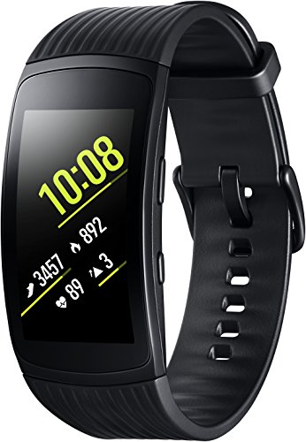 Samsung Gear Fit2 Pro SM-R365 Black (L) Nachricht Mp3