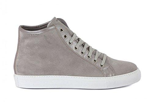 Frau 40A5 Sneaker Donna in Camoscio con Rialzo Interno (38, Nuvola Amalfi)