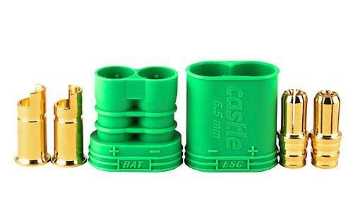 Castle Creations 011-0053-00 Cc Polarized Bullet Connector 6.5mm by Castle Creations Polarized Connector