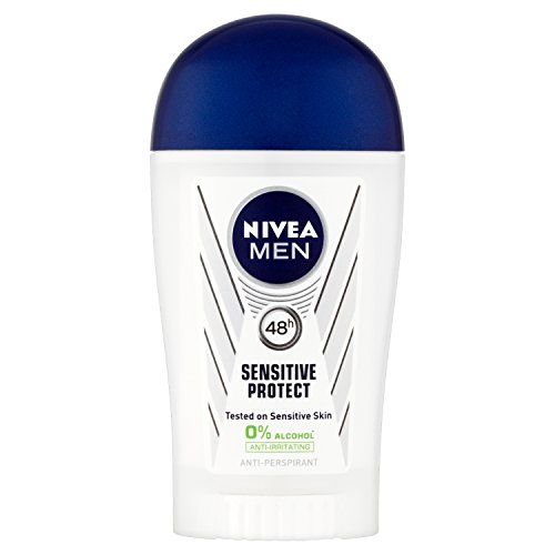 Nivea Men Sensitive Protect - Deodorante in stick, 40 ml, 6 pz.