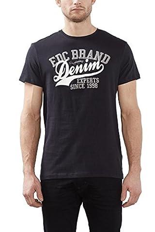 edc by ESPRIT Herren T-Shirt 996CC2K911, Gr. X-Large, Schwarz (black 001)