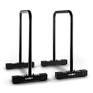 Capital Sports Alongs – Parallettes, Push-Up-Station, Dip-Station, Tragkraft: max. 180 kg, Functional-Training, stabiles Gestell für Ganzkörper-Workouts, Stahlrohrgestell, Griffpolster, rutschfest