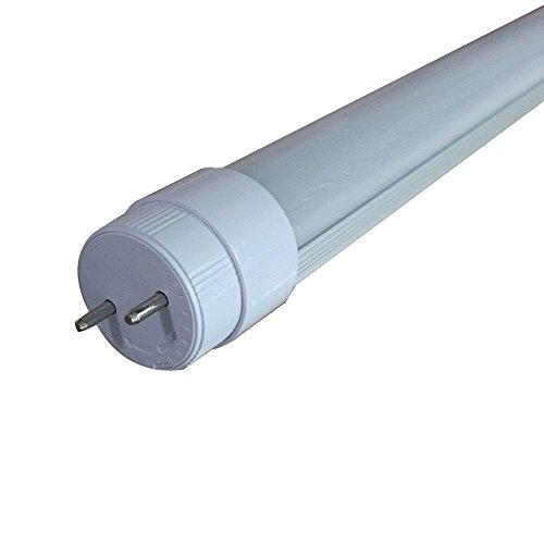 6000K DC12V 18 Inch T8 LED Tube 7W With Rotatable End Cap, Frosted Lens,15W Equivalent