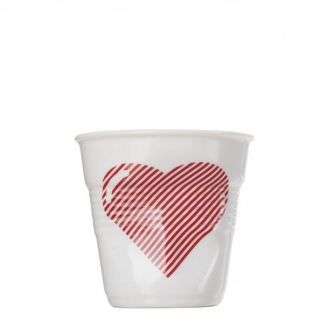 gobelet froisse cappuccino 18 cl revol coeur