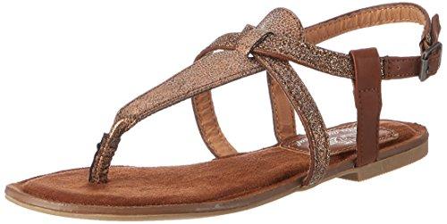 Fritzi aus Preussen Damen Sandals 03 Offene, Braun (Bronze), 37 EU