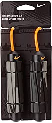 Nike AC3617F4-096 Speed Rope, (Grey/Black/Bright Citrus)