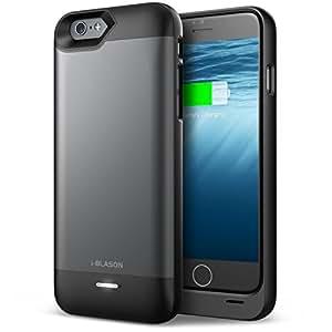 iPhone 6 Plus Battery Case, i-Blason Apple iPhone 6 Plus 5.5 Inch External Protective Gray