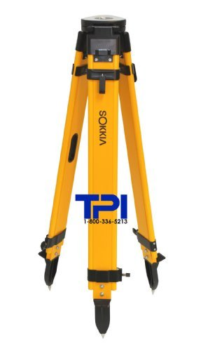 SOKKIA DUAL LOCK WOOD FIBERGLASS TRIPOD,GPS,TOTAL STATION,SURVEYING,TOPCON,TRIMBLE by - Gps-lock
