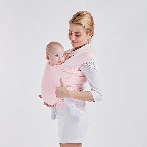 Baby Tragerucksack Baumwollgurte Multicolor , Pink