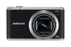 Samsung WB350F Smart-Digitalkamera (16 Megapixel, 21-fach opt. Zoom, 7,6 cm (3 Zoll) Touchscreen) schwarz