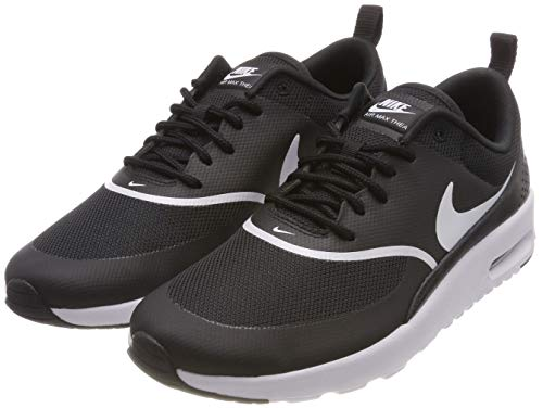 Nike Damen Air Max Thea Derbys, Schwarz (Black/White 028), 39 EU