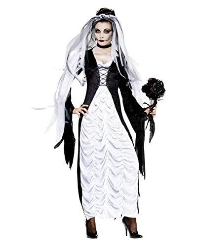 Braut Der Finsternis Kostüm - Horror-Shop Braut der Finsternis Kostüm