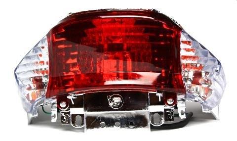 Rücklicht Rückstrahler Klar für 4 Takt China Roller, Baotian, Benzhou, Rex RS450, MKS